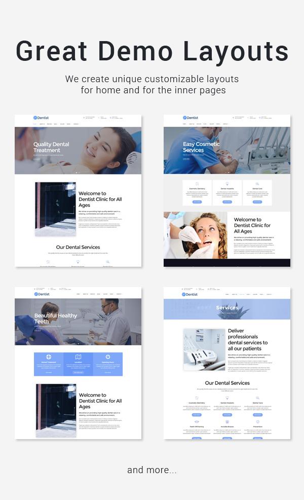 Medical Clinic WordPress Theme