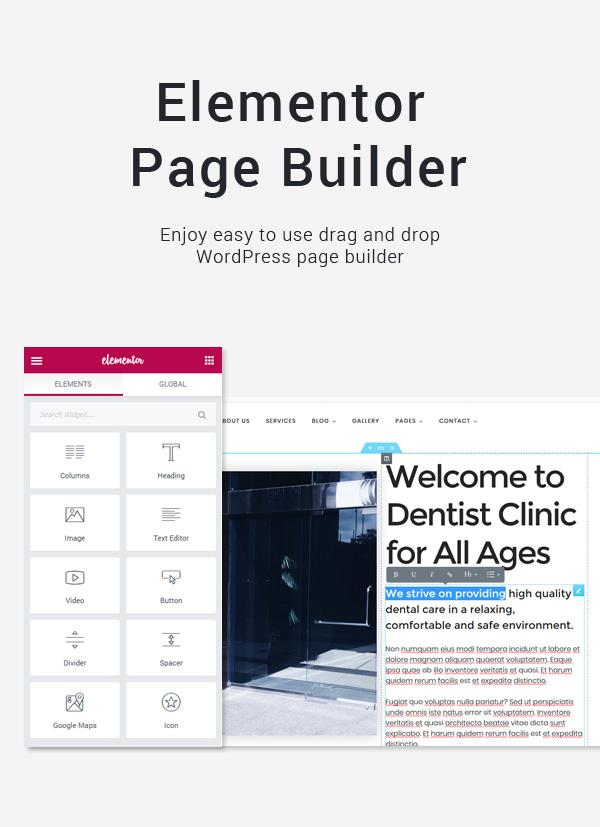 Page Builder Medical WordPress Theme