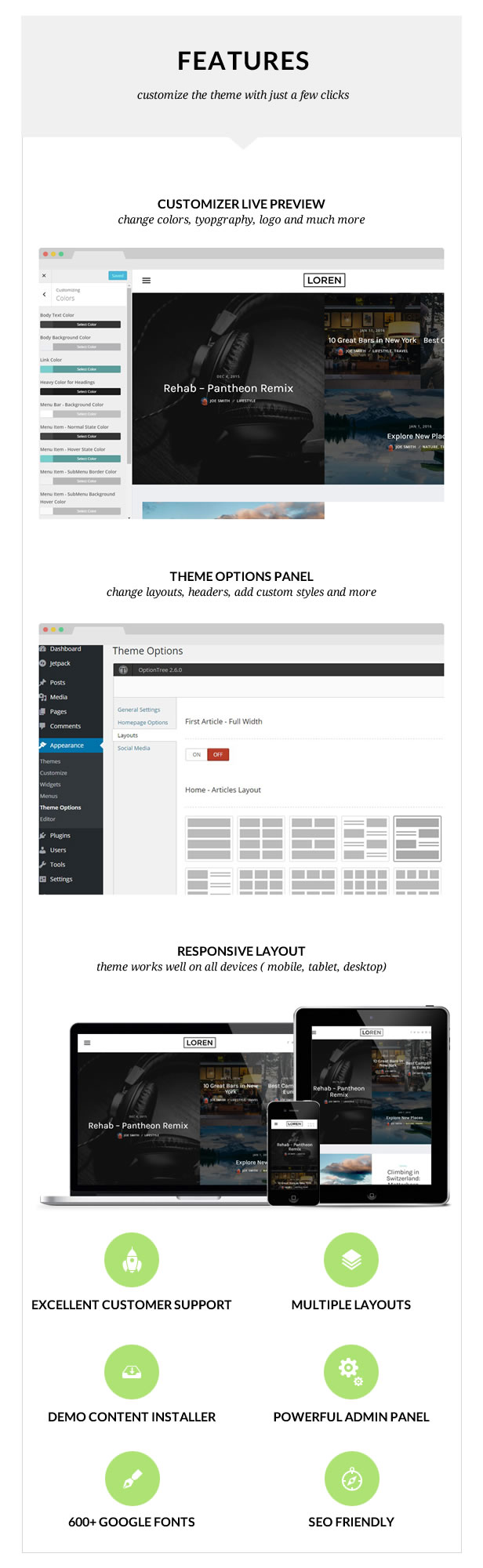 Loren - Responsive WordPress Blog Theme - 2
