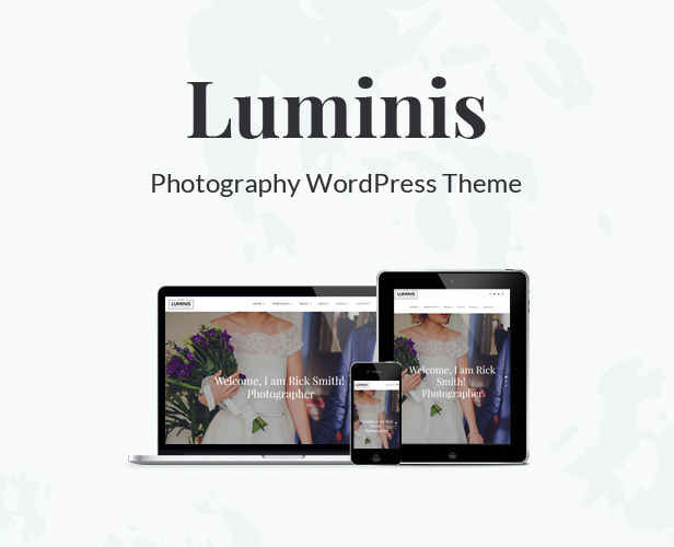 Luminis - Photography WordPress Theme for Wedding, Travel, Event Portfolios - 5