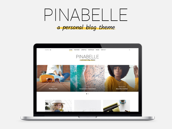 Pinabelle responsive WP theme